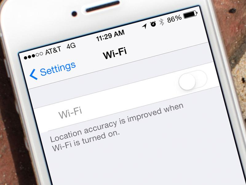 как ловит iphone