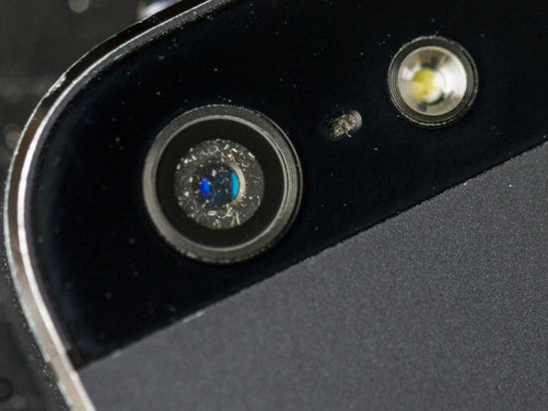 Камера засоряется на айфон